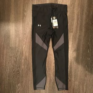 Under Armour - Black and Grey Compression Legging